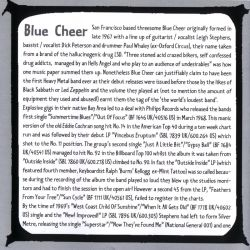 Blue Cheer ‎– New! Improved! (1969) Inlay