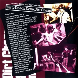 AC/DC – Dirty Deeds Done Dirt Cheap (1976) Booklet