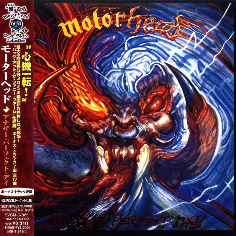 Motorhead – Another Perfect Day (1983) Front