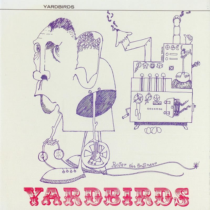 The Yardbirds – Roger The Engineer (1966) Front