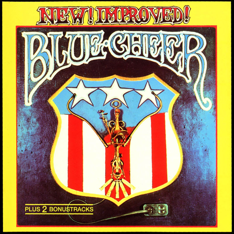 Blue Cheer ‎– New! Improved! (1969) Front