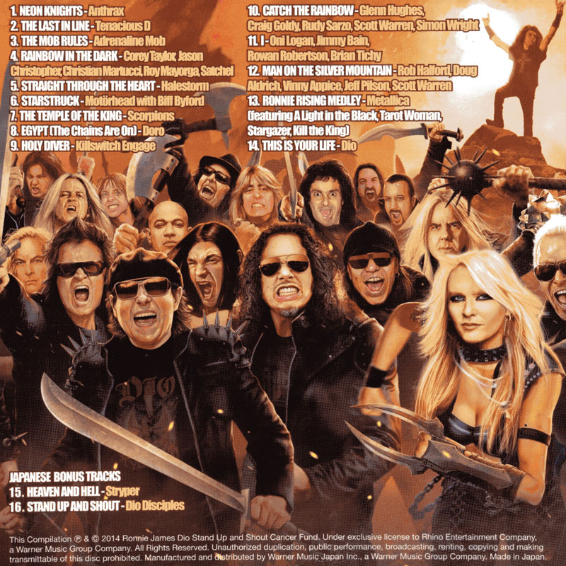 Various Artists - Ronnie James Dio - This Is Your Life (2014) Back