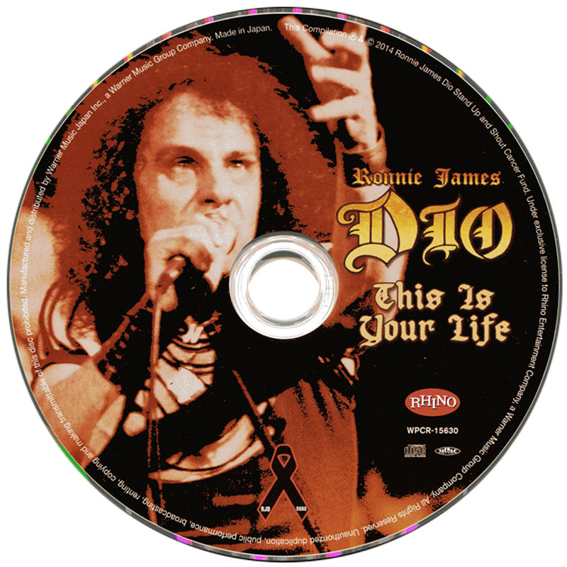 Various Artists - Ronnie James Dio - This Is Your Life (2014) CD