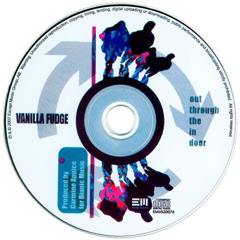Vanilla Fudge - Out Through The In Door (2007) CD