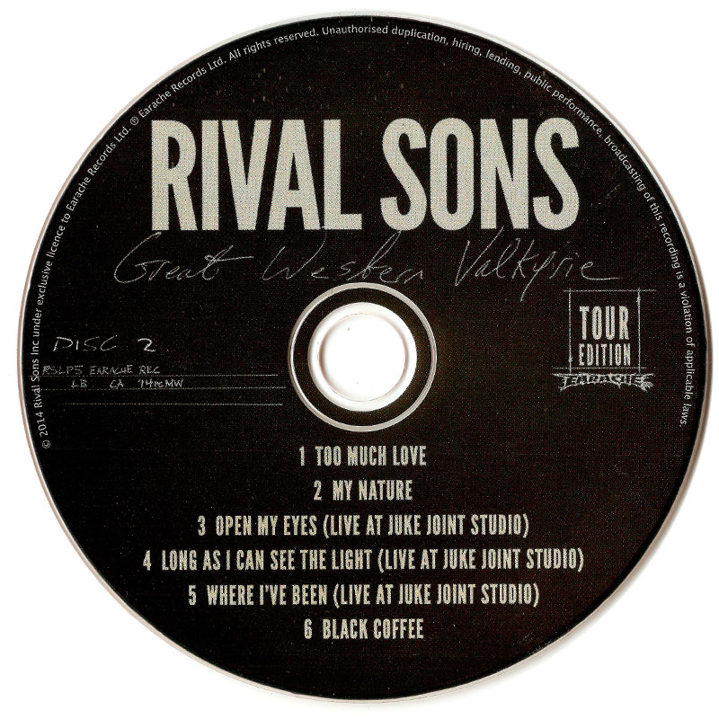 Rival Sons - Great Western Valkyrie (2014) CD 2