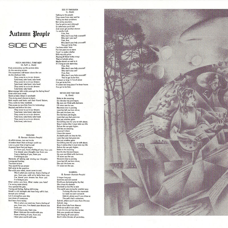 Autumn People – Autumn People (1976) Booklet 01