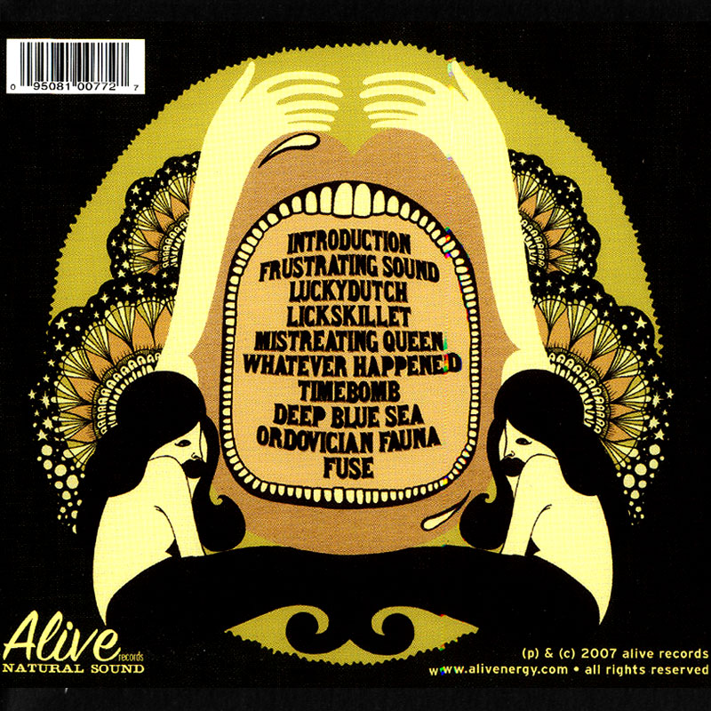 Radio Moscow - Radio Moscow (2007) Back