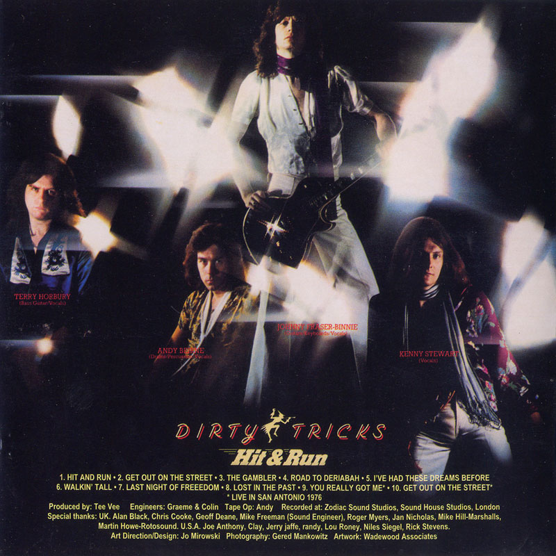 Dirty Tricks - Hit & Run (1977) Back