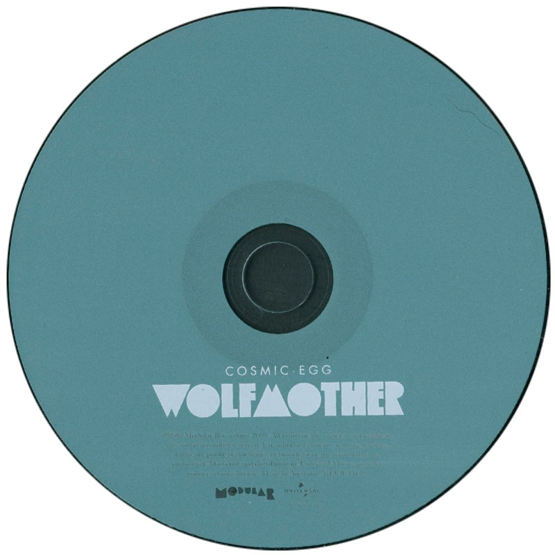 Wolfmother - Cosmic Egg (2009) CD