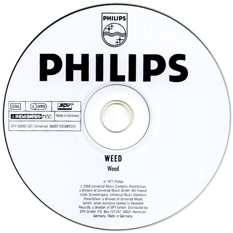 Weed - Weed...! (1971) CD