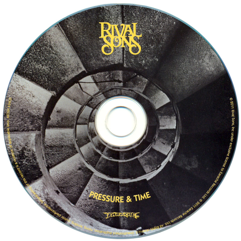 Rival Sons - Pressure and Time (2011) CD