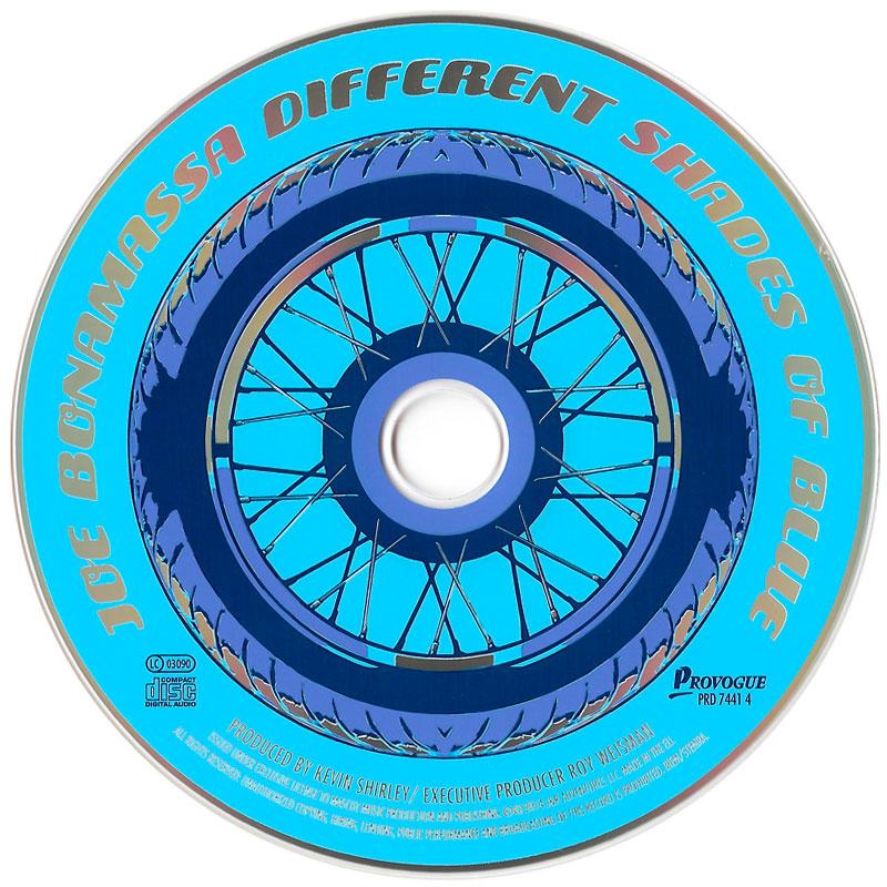 Joe Bonamassa - Different Shades Of Blue (2014) CD