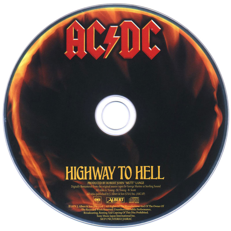 AC/DC – Highway To Hell (1979) CD