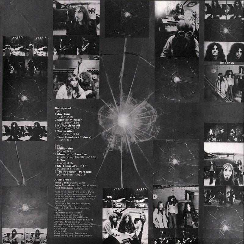 Hard Stuff - Bulletproof (1972) Inside