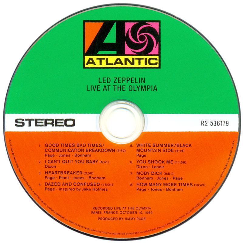 Led Zeppelin - Led Zeppelin (1969) CD2