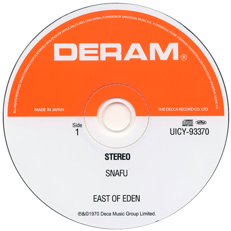 East Of Eden - Snafu (1970) CD