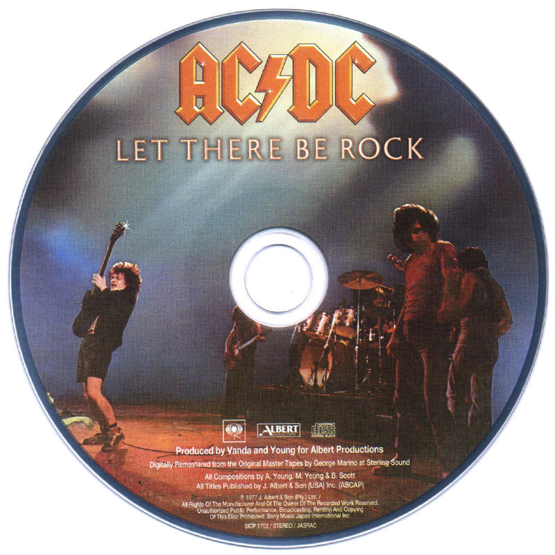 AC/DC - Let There Be Rock (1977) CD