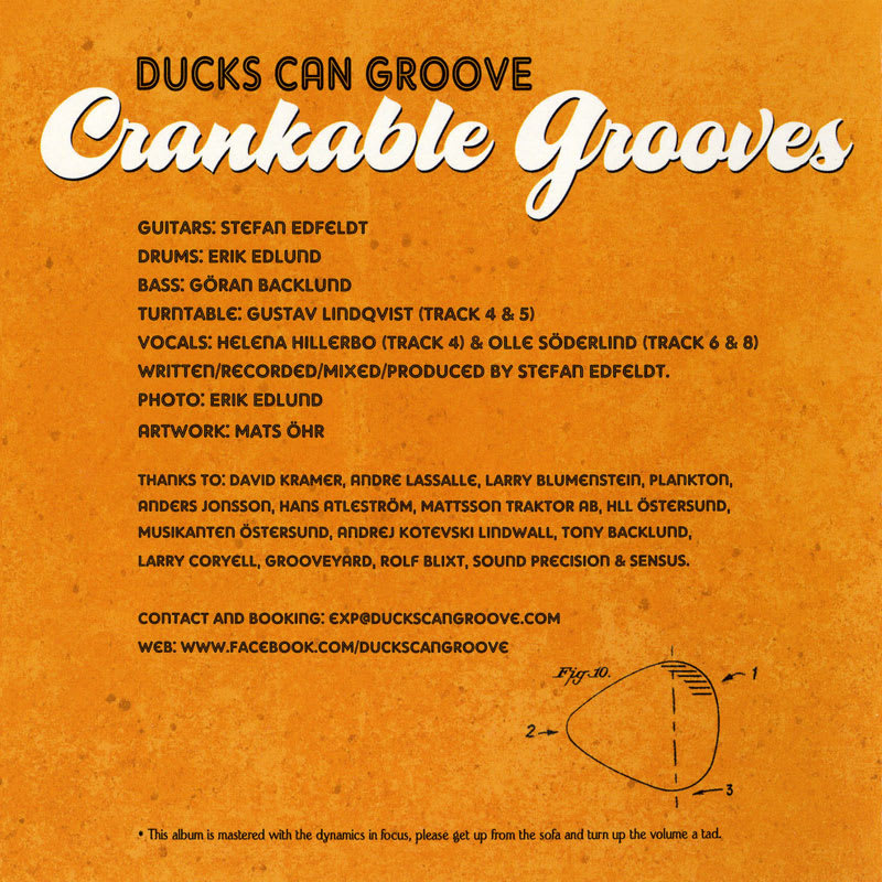 Ducks Can Groove - Crankable Grooves (2012) Booklet 1