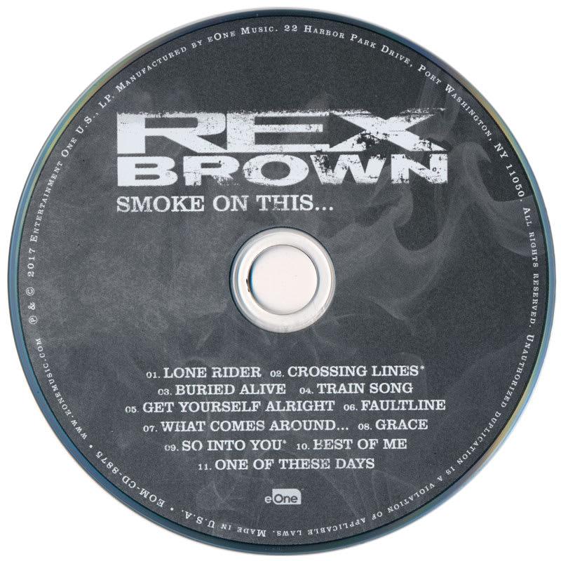 Rex Brown – Smoke On This... (2017) CD