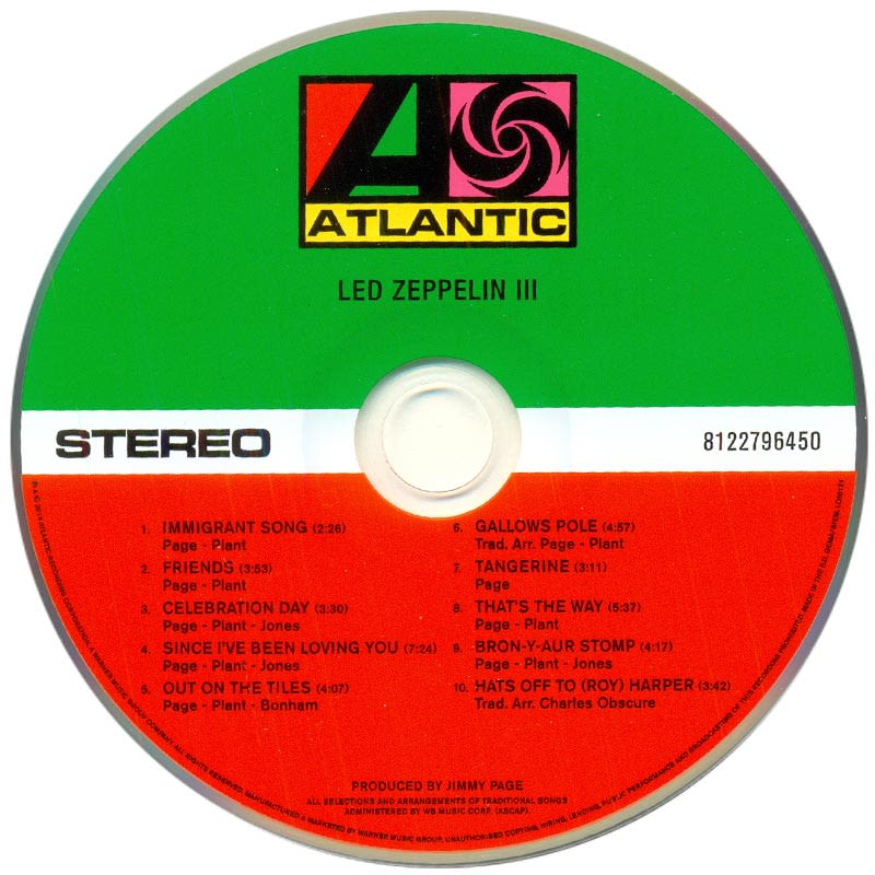 Led Zeppelin III (1970) CD1