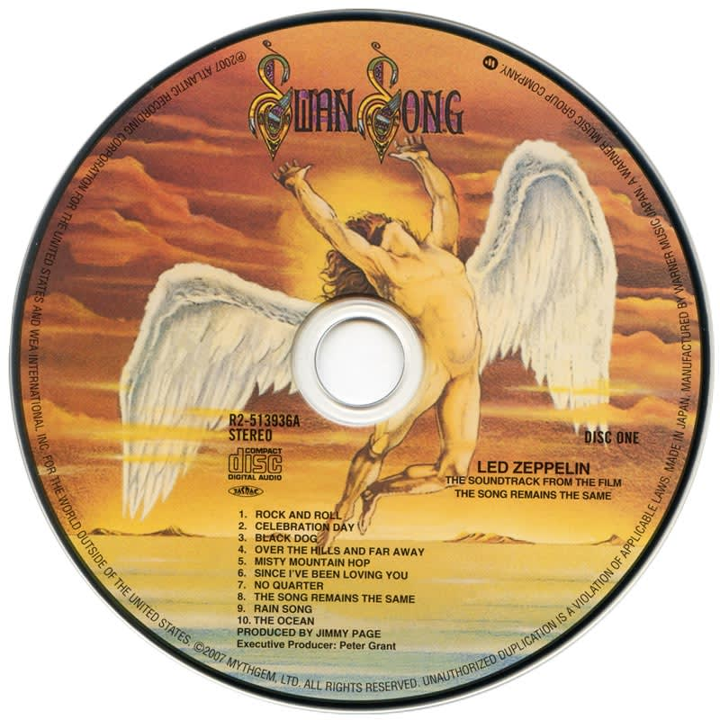 Led Zeppelin - The Song Remains The Same (1976) CD 1