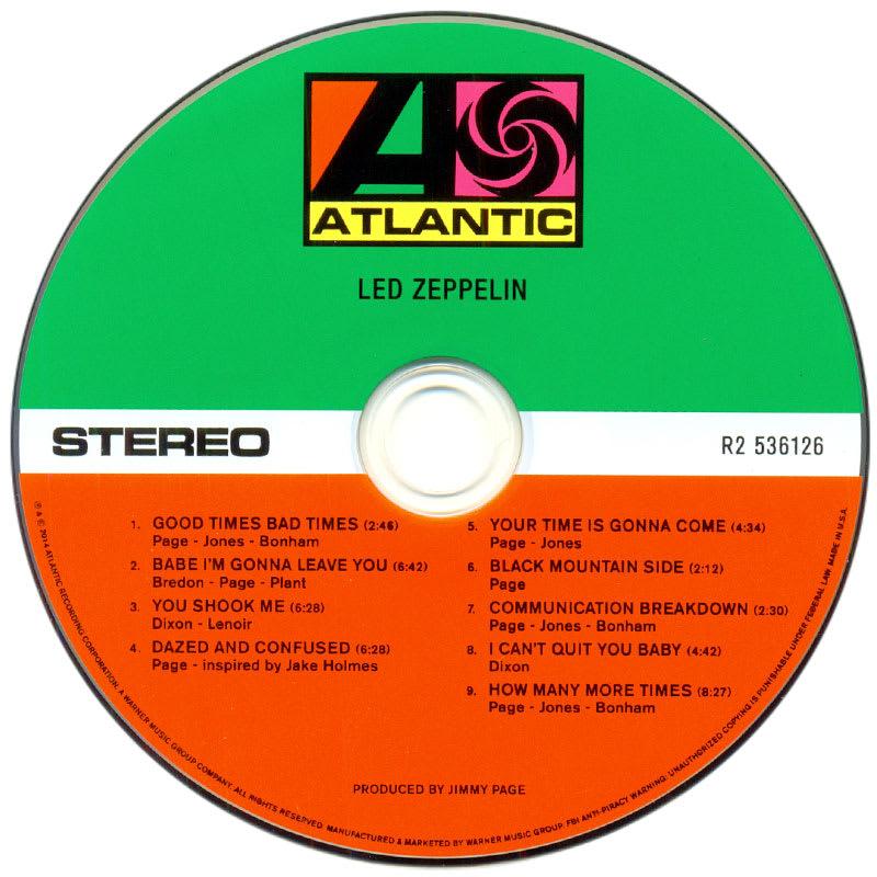 Led Zeppelin - Led Zeppelin (1969) CD1