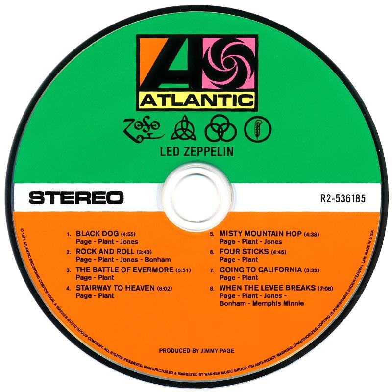 Led Zeppelin IV (1971) CD1