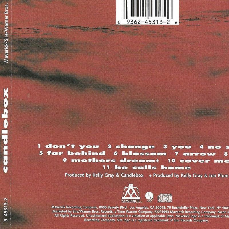 Candlebox – Candlebox [1993] Back