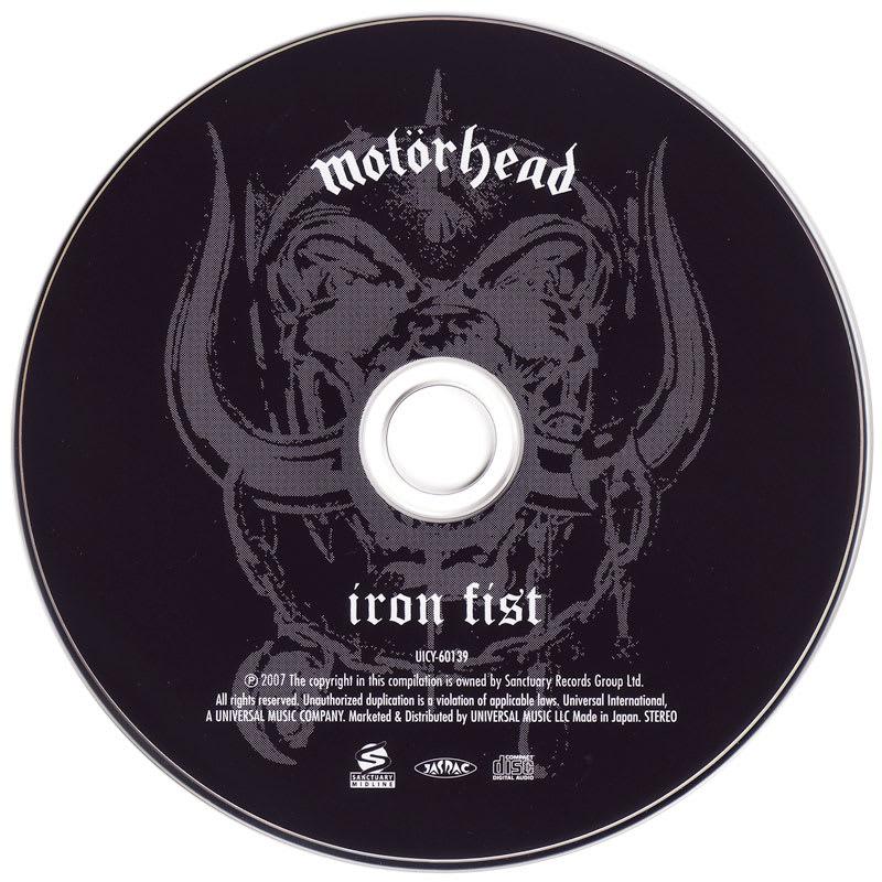Motorhead – Iron Fist (1982) CD