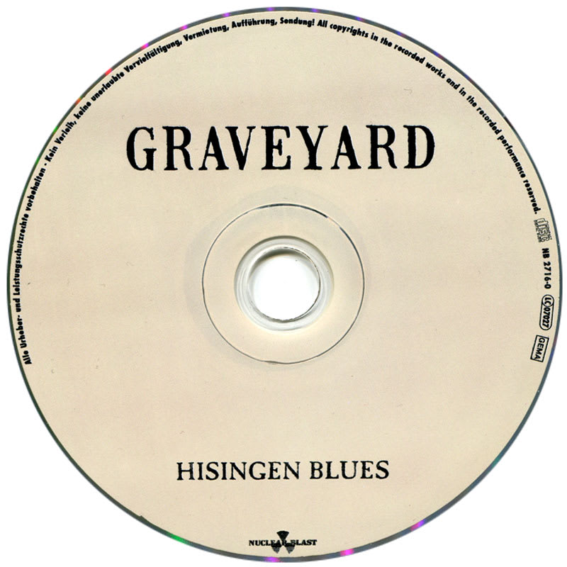 Graveyard - Hisingen Blues (2011) CD