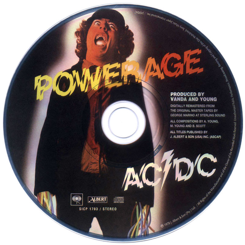 AC/DC - Powerage (1978) CD