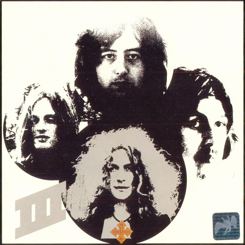 Led Zeppelin III (1970) Back