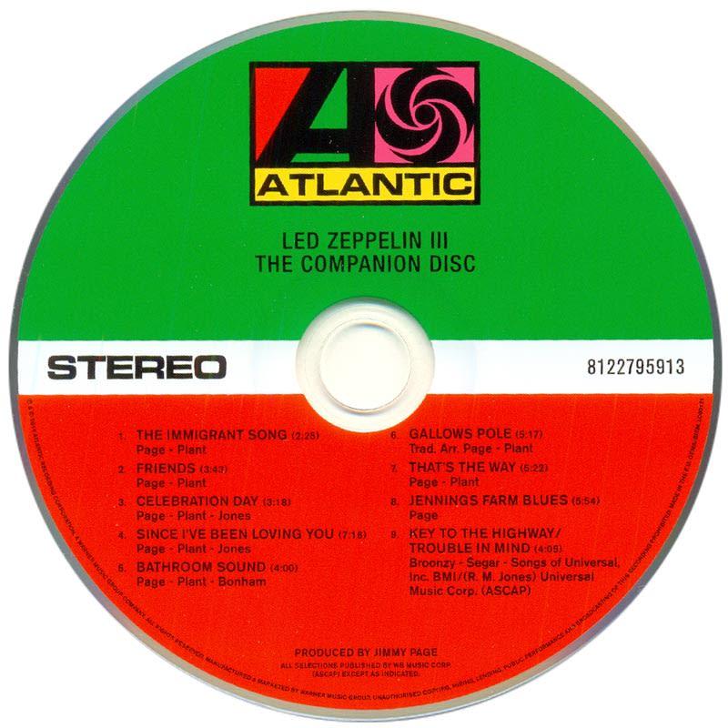 Led Zeppelin III (1970) CD2