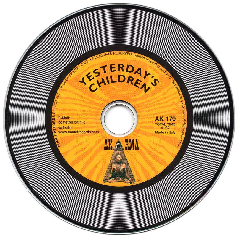 Yesterday's Children - Yesterday's Children (1969) CD