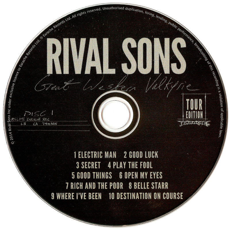 Rival Sons - Great Western Valkyrie (2014) CD 1