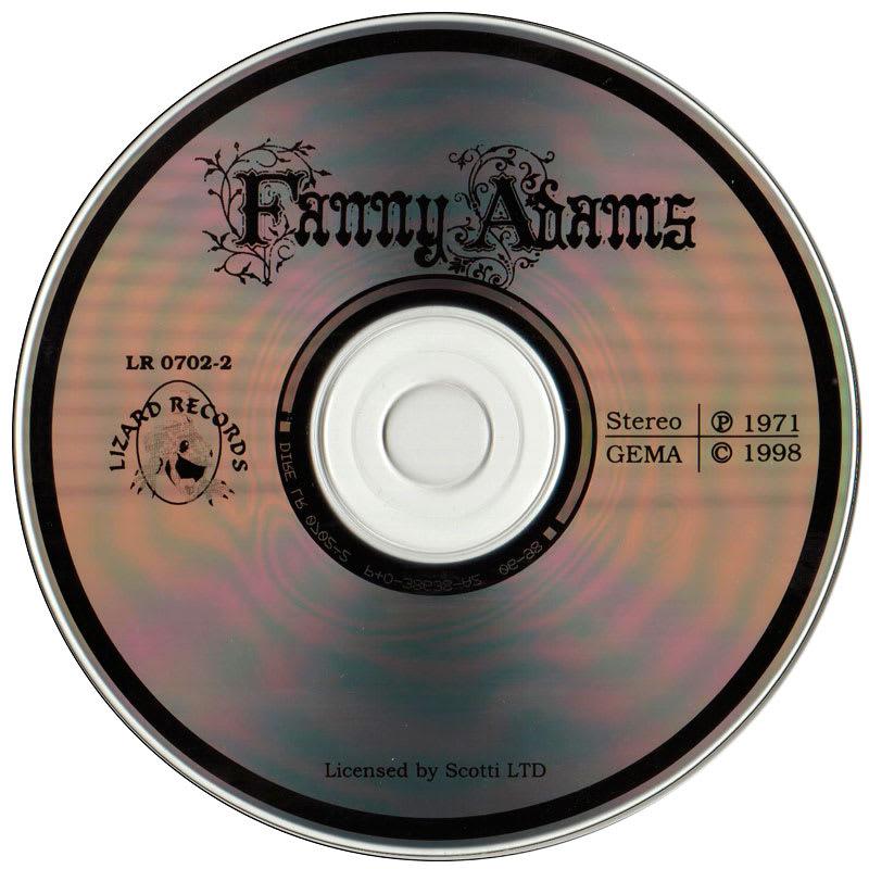 Fanny Adams – Fanny Adams (1971) CD
