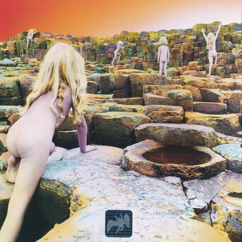 Led Zeppelin - Houses Of The Holy (1973) Back
