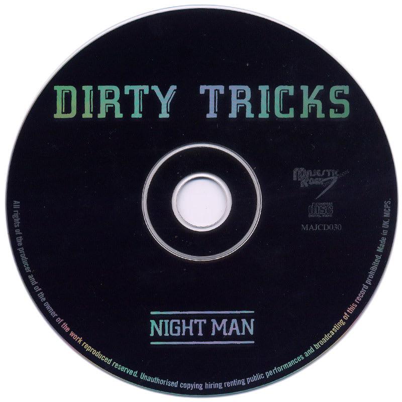 Dirty Tricks - Night Man (1976) CD