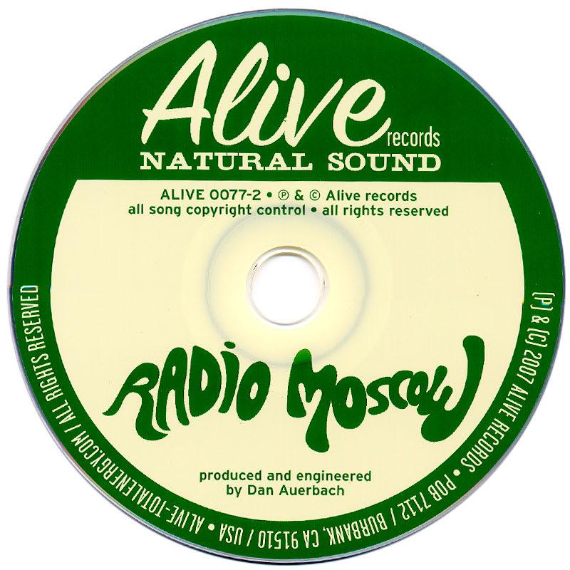 Radio Moscow - Radio Moscow (2007) CD