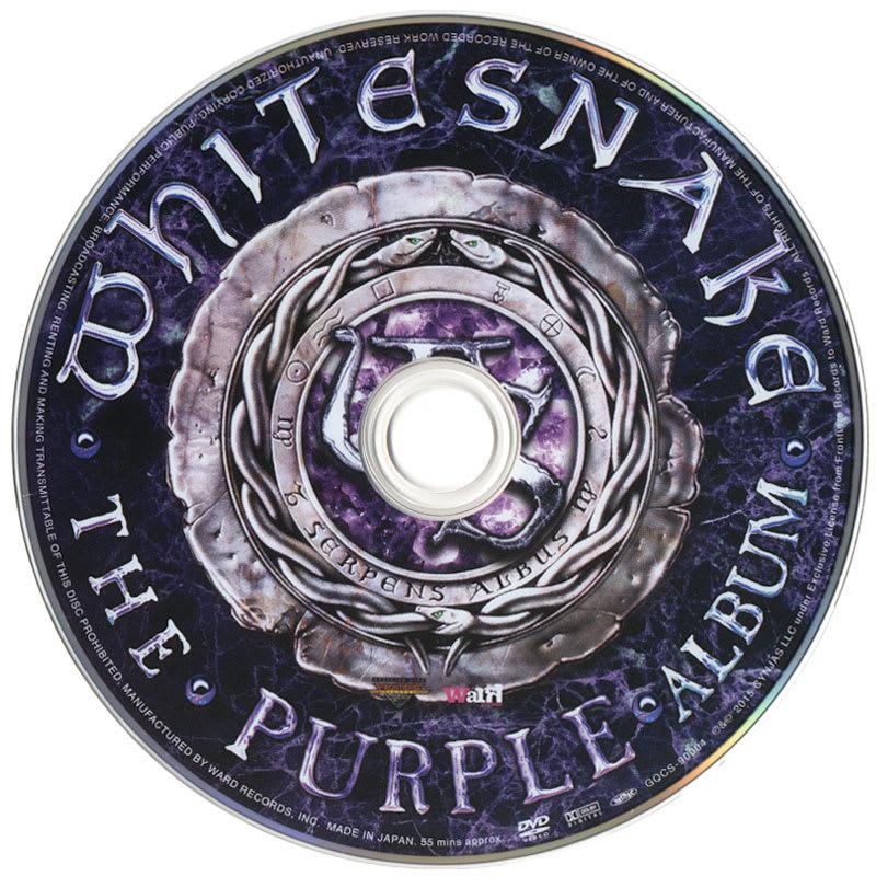 Whitesnake - The Purple Album (2015) DVD