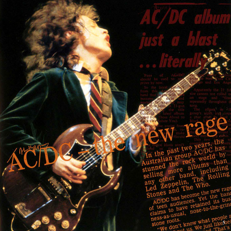 AC/DC – For Those About To Rock (1981) Booklet