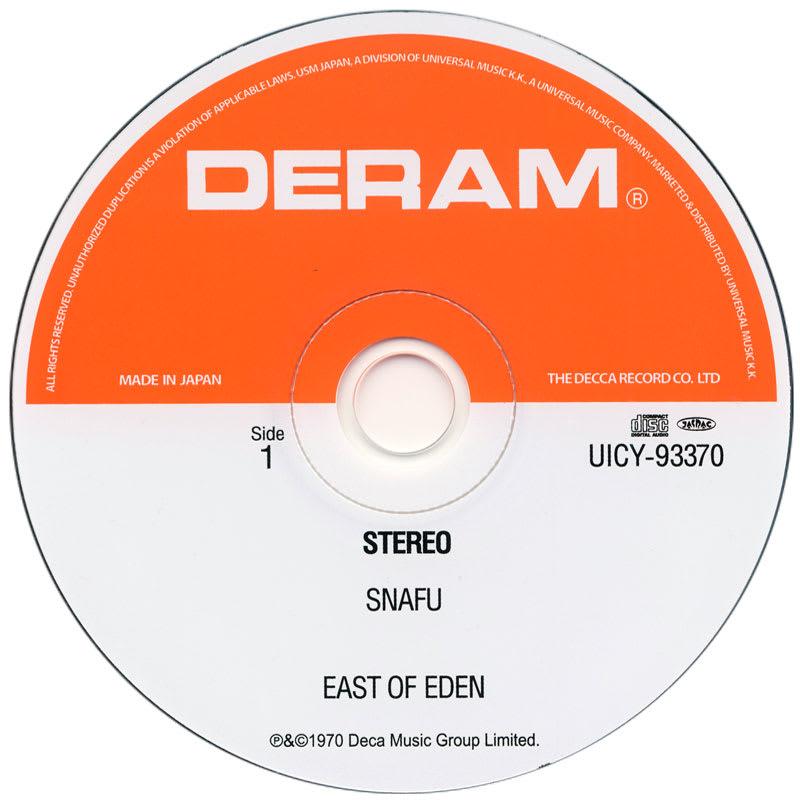 East Of Eden - Snafu (1970) CD