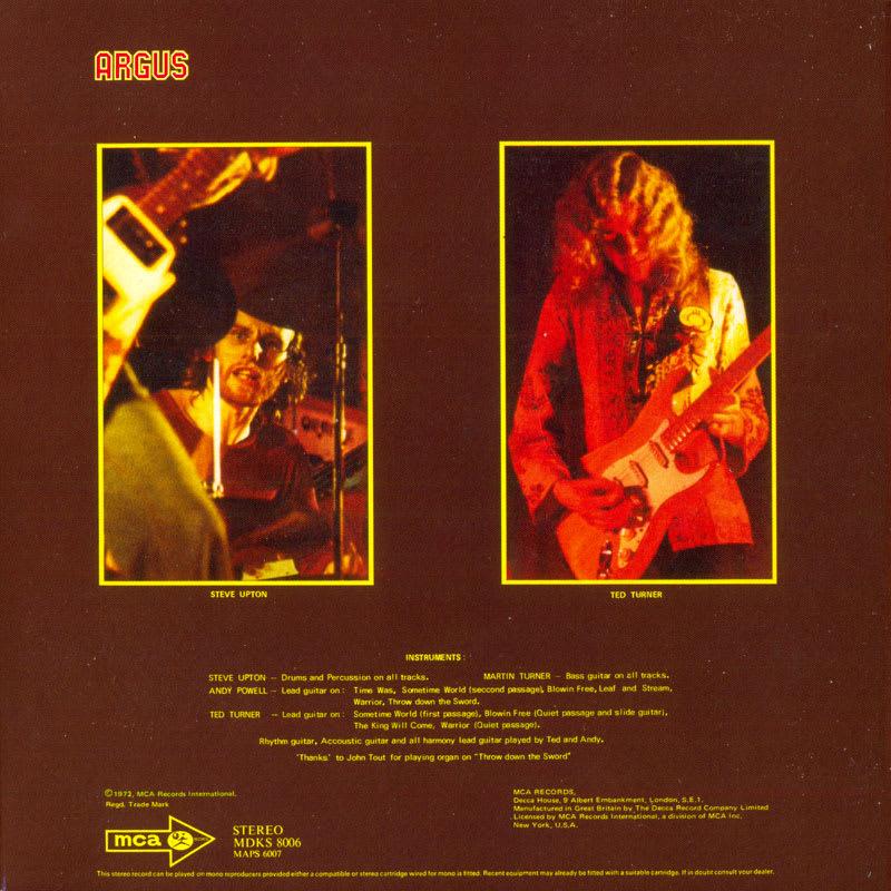 Wishbone Ash – Argus (1972) Inside 02