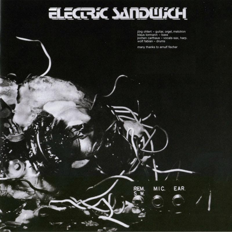 Electric Sandwich - Electric Sandwich (1972) Booklet