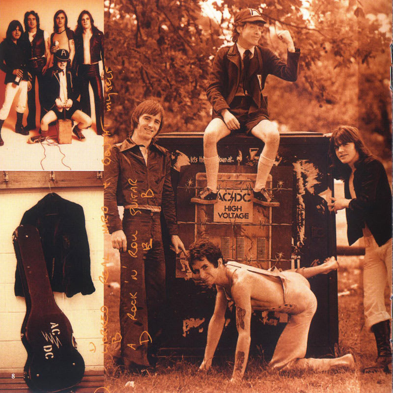 AC/DC - High Voltage (1976) Booklet