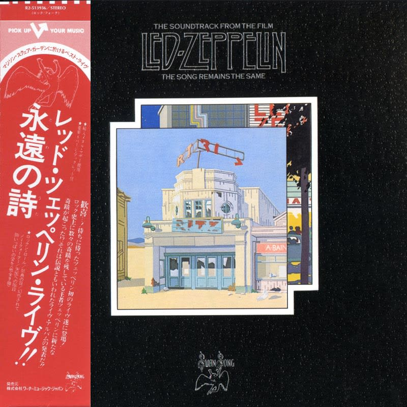 Led Zeppelin - The Song Remains The Same (1976) Front