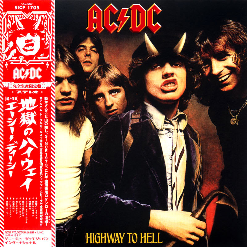 AC/DC – Highway To Hell (1979) Front