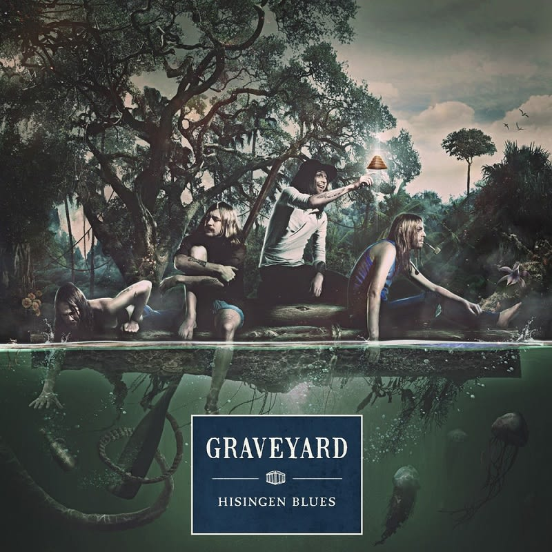 Graveyard - Hisingen Blues (2011) Front