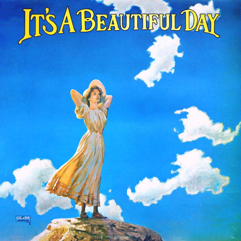 It's a Beautiful Day – It's a Beautiful Day (1969) Front