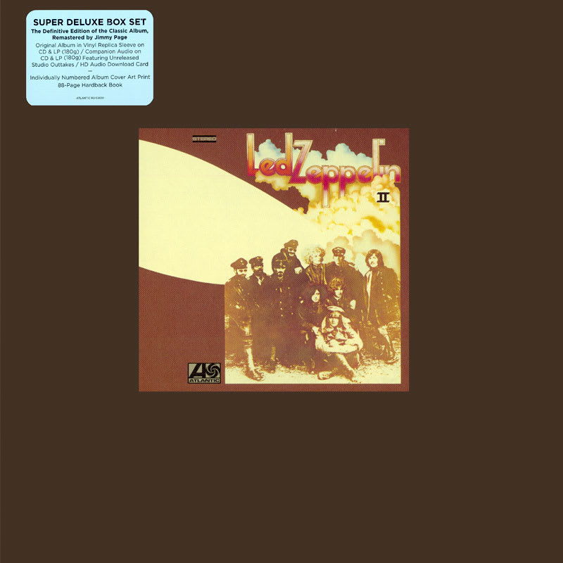 Led Zeppelin II (1969) Front